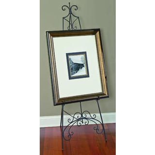 York Black Metal 65-inch Floor Easel