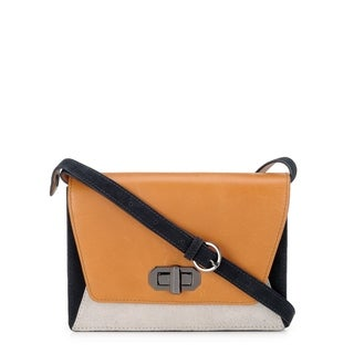 Handmade Phive Rivers Women's Leather Crossbody Bag (Multicolor, PR1232)