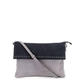 Handmade Phive Rivers Women's Leather Crossbody Bag (Grey, PR1222)|https://ak1.ostkcdn.com/images/products/13403049/P20098869.jpg?impolicy=medium