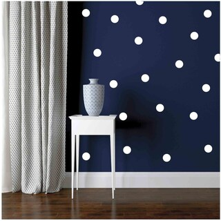 Owl Hills 2.5 Inch Polka Dot Wall Stickers