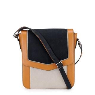 Phive Rivers Women's Leather Crossbody Bag (Multicolor, PR1221)