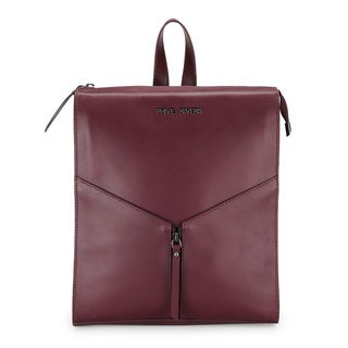 Phive Rivers WomenS Leather Back Pack (Burgundy, PR1220)