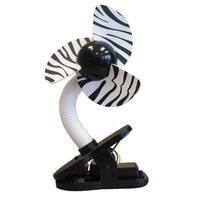 Tee-Zed® Zoo Themed Stroller Fan Zebra