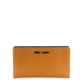 Handmade Phive Rivers Women s Leather Wallet (Orange, PR1238) - One size