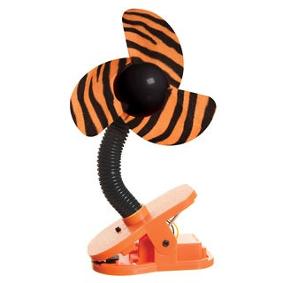 Dreambaby Black and Orange Plastic Tiger Stroller Fan