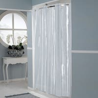 EZ On Super Clear 100-percent EVA Shower Curtain/Liner With Built in Hooks Shower Curtain