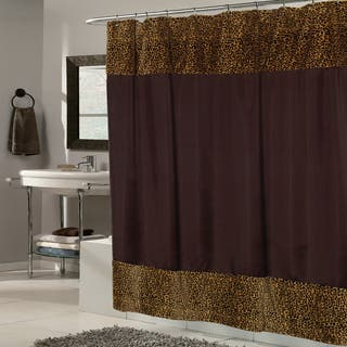 Brown Fabric With Cheetah Faux Fur Trim Shower CurtainBrown Shower Curtains  Shop The Best Deals for Nov 2017Maroon Shower Curtain Set  Retro Shower Curtain Designer Shower  . Maroon Shower Curtain Set. Home Design Ideas