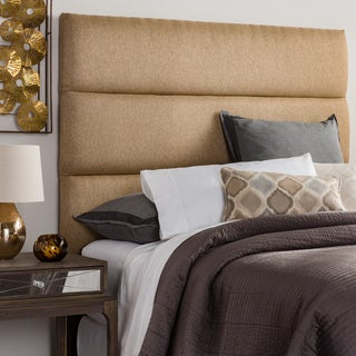Humble + Haute Hereford Queen Size Golden Brown Upholstered Headboard