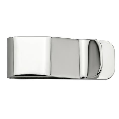 High Polished Stainless Steel Money Clip