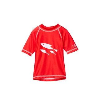 Boy's 'One Fish, Two Fish' Red Polyester Rash Guard|https://ak1.ostkcdn.com/images/products/13403347/P20099069.jpg?impolicy=medium