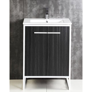 Vdara 30-inch Dawn Gray Bathroom vanity Cabinet Set