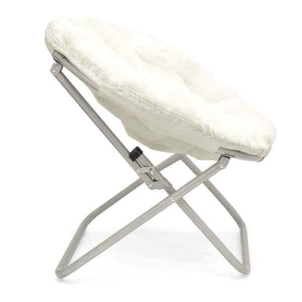 Surprising Shop Mongolian Fur Papasan Chair Free Shipping Today Theyellowbook Wood Chair Design Ideas Theyellowbookinfo