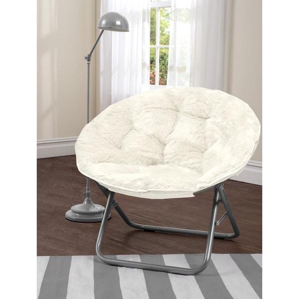 shop mongolian fur papasan chair on sale free shipping. Black Bedroom Furniture Sets. Home Design Ideas