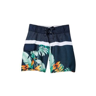 Second Nature Boys' Blue Hawaiian Print Boardshorts