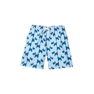 Boys Scotty Dog Swim Shorts