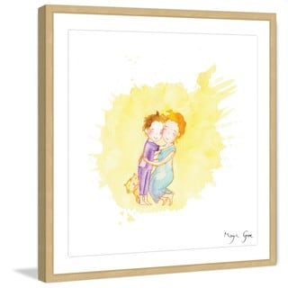 Marmont Hill - 'Mommy' by Maya Gur Framed Painting Print