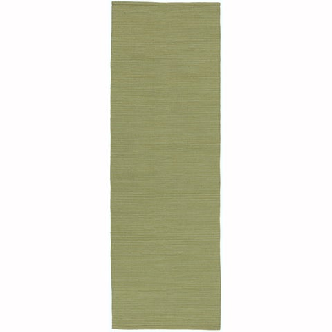 "Artist's Loom Flatweave Contemporary Solid Pattern Cotton Rug( 2'6""x7'6"") (Set of 2) - 2'6x 7'6"