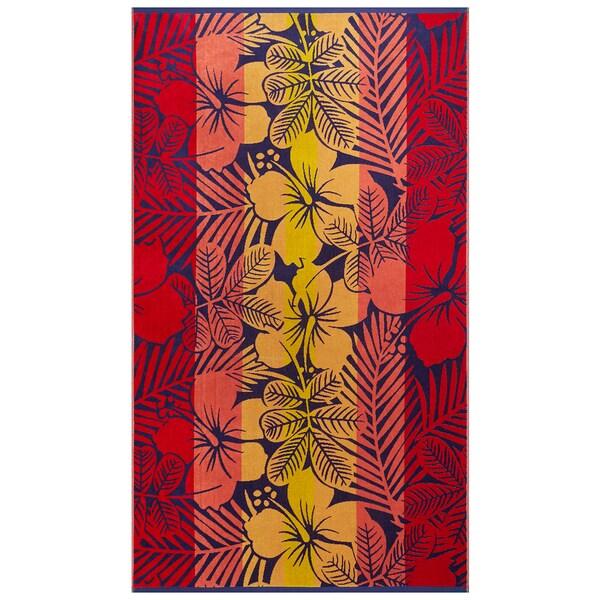 Softesse Hibiscus Beach Towel