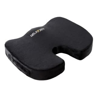 Relaxzen Gel Enhanced Coccyx Support Seat Cushion with Memory Foam Black https://ak1.ostkcdn.com/images/products/13403890/P20099461.jpg?impolicy=medium