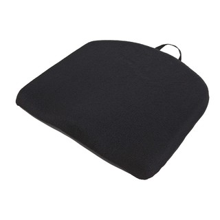 Relaxzen Black Memory Foam Travel Seat Cushion