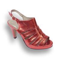 Fic Floral Womens Jules Metallic Platform Dress Pumps