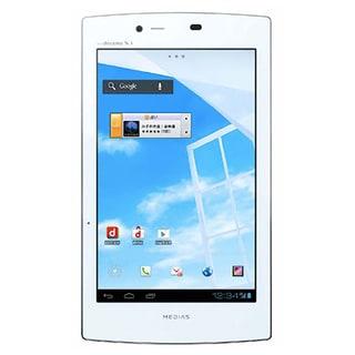 "Docomo NEC N-08D Medias 7"" Wi-Fi Tablet w/ 8MP Camera - White"