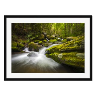 Great Smoky Mountains, Framed Paper Print