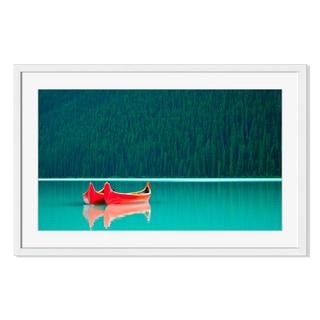 Lake Louise, Framed Paper Print