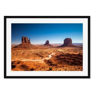 Monument Valley, Framed Paper Print