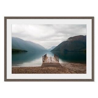 Nelson Lakes I, Framed Paper Print
