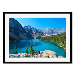Moraine Lake, Framed Paper Print