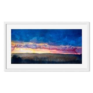 Watercolor landscape II, Framed Paper Print