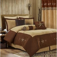 EverRouge Winslow Laredo 7-piece Oversized Comforter Set