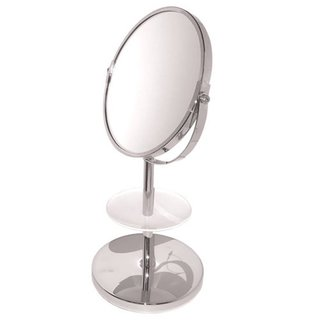 Double Sided 5x/1x Magnification Vanity Mirror with Acrylic Plate