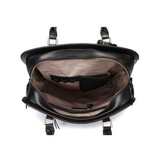 Vicenzo Leather Lea Marie Leather 14-inch Laptop Shoulder Handbag