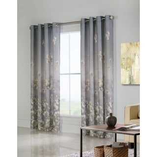 Chamberlain Floral Printed Window Curtain Panel