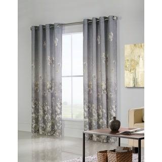Chamberlain Floral Printed Window Curtain Panel Pair