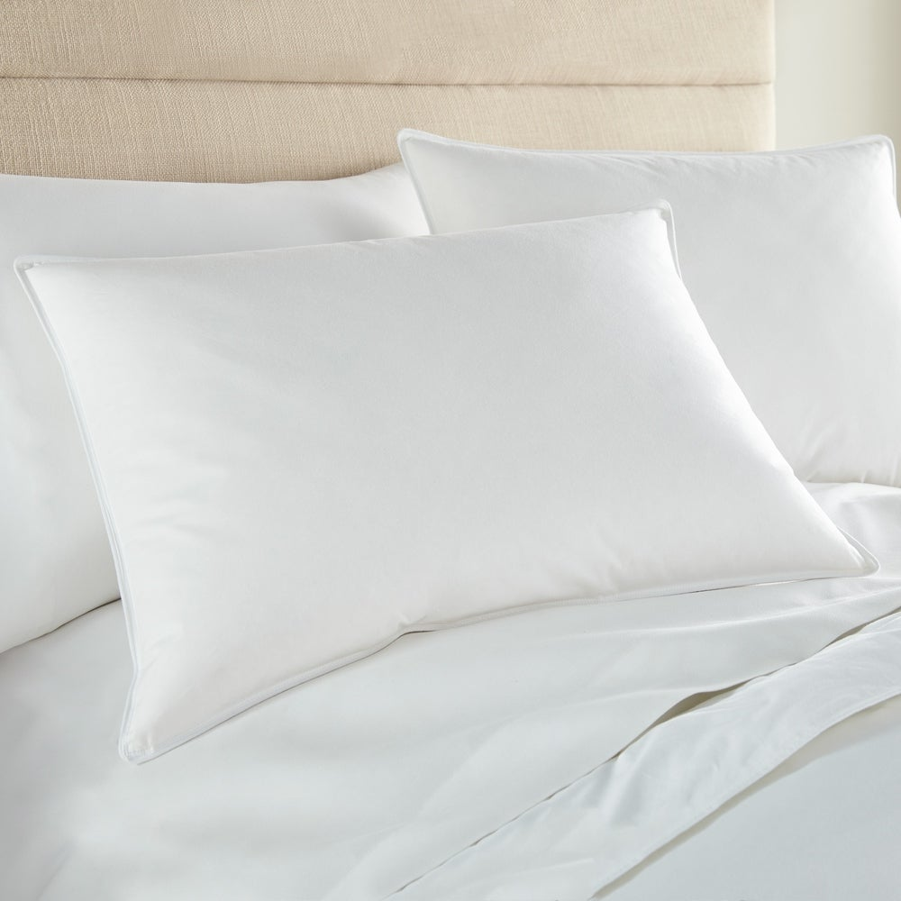 Downlite Soft Down Stomach Sleeper Pillow - White (Standard - Single)