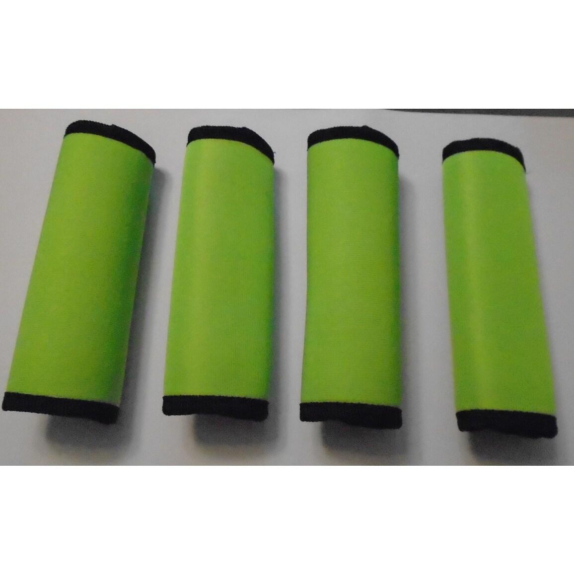 Super Grabber Lime Green Neoprene 4-piece Handle Grip Luggage Spotter Set (Lime Green)