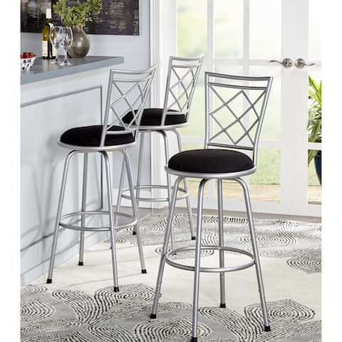 Buy Set Of 3 Counter Amp Bar Stools Online At Overstock