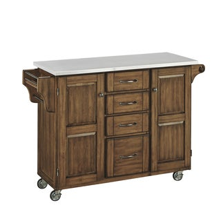 Create-a-Cart in Warm Oak Finish by Home Styles
