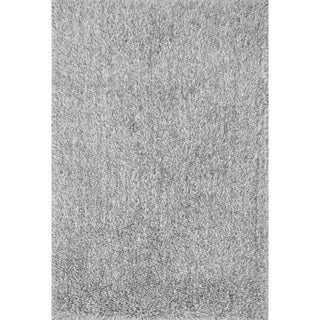 Kasen Plush Two-tone Shag Rug (2'3 x 3'9)