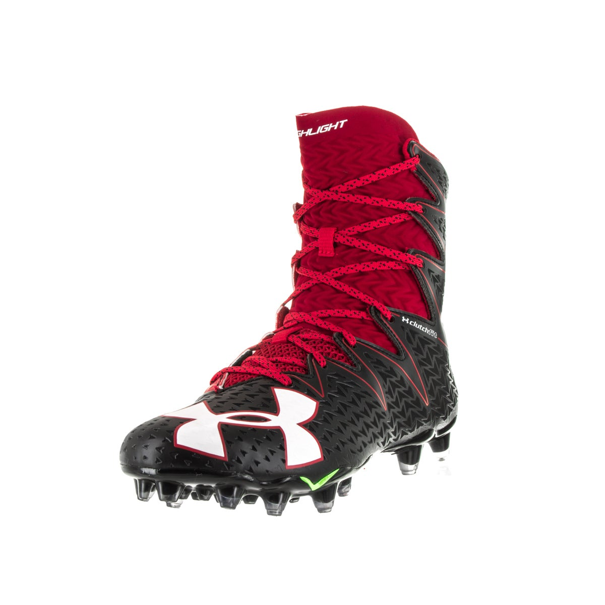 f410130e5 Shop Under Armour Men's UA Highlight MC Red Football Cleat - Free Shipping  Today - Overstock - 13404568