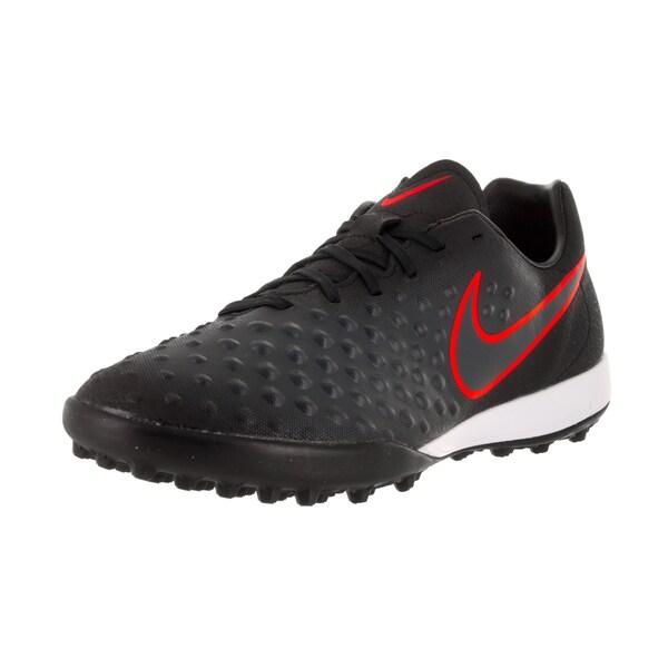 16446507186e3 Shop Nike Men's Magistax Onda II Black Fabric Turf Soccer Shoes ...