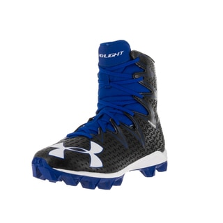 Under Armour Kids UA Highlight RM Jr. Blk/Try Football Cleat