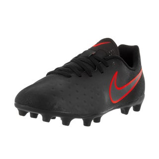 Nike Kid's Jr Magista Ola II Black Plastic Soccer Cleats