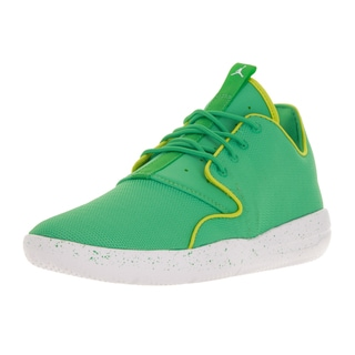 Nike Jordan Kids' Jordan Eclipse Gamma Green and Cyber White Synthetic Running Shoes