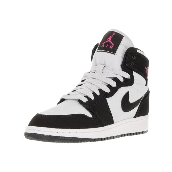 a9e5a866f2b Shop Nike Jordan Kids  Air Jordan 1 Retro High Pure Platinum