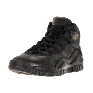 Nike Jordan Kids' Air Jordan 10 Retro Black Leather Basketball Shoe (4 options available)