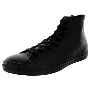 Converse Unisex Chuck Taylor Black Leather High Top Basketball Shoe
